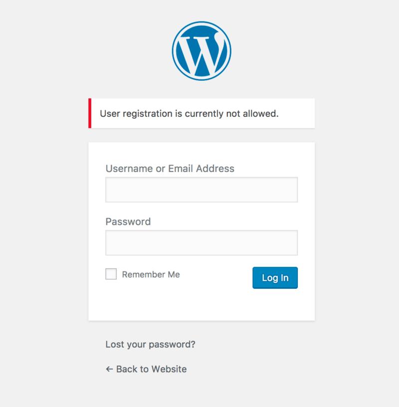 disabled-wordpress-registration-notice